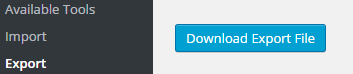 wordpress-export-download-button
